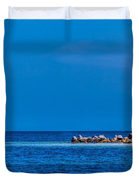 So This Is The Gulf Of Mexico Duvet Cover