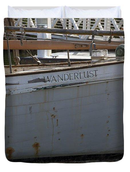 S.o. Wanderlust Duvet Cover by Amanda Barcon