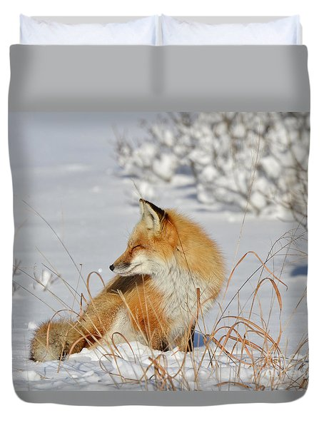 Soaking Up The Sun Duvet Cover