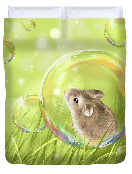 Soap Bubble Duvet Cover
