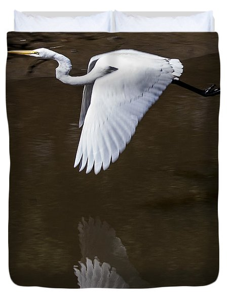 Soaring Reflection Duvet Cover