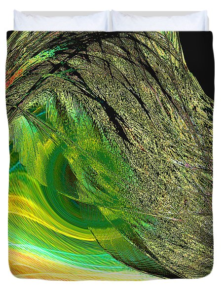 Soaring Wing Duvet Cover by Thomas Bryant