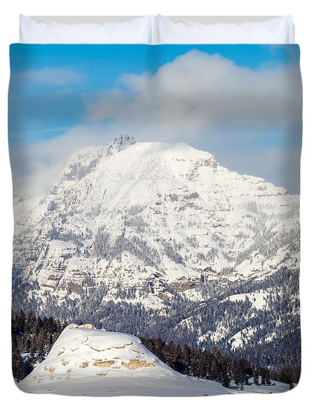 Soda Butte Duvet Cover