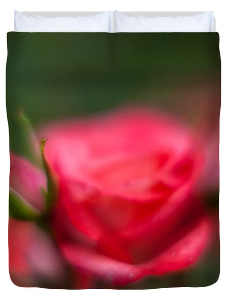 Soft And Peaceful Duvet Cover by Mike Reid