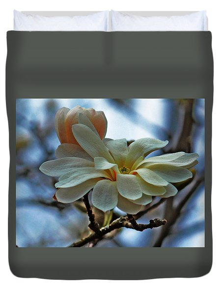 Soft Blooms Duvet Cover