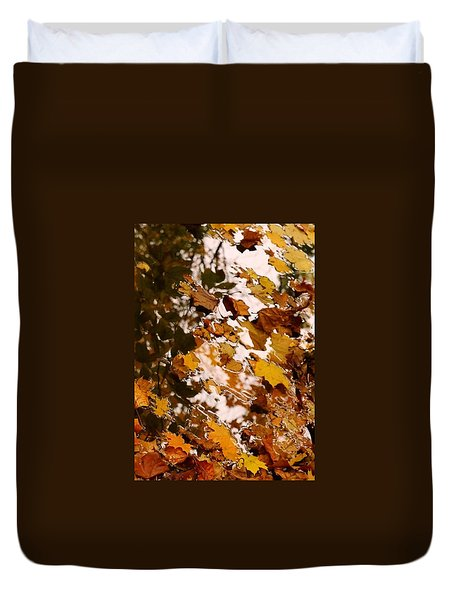 Duvet Cover featuring the photograph Soft Landing by Photographic Arts And Design Studio
