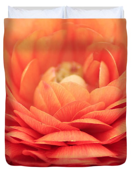 Soft Layers Duvet Cover by Darren Fisher