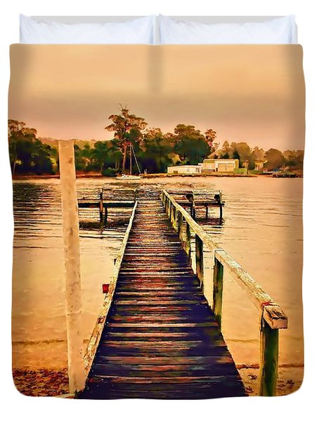 Soft Light Duvet Cover by Wallaroo Images