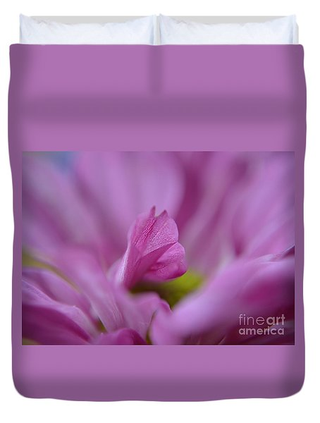 Soft Purple Duvet Cover by Michelle Meenawong