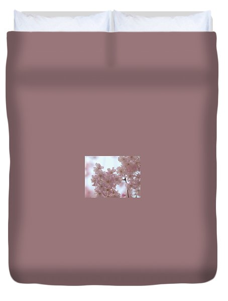 Duvet Cover featuring the photograph Soft... by Rachel Mirror