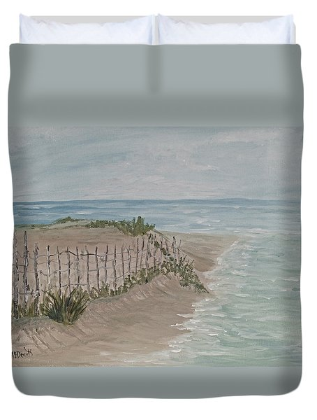 Soft Sea Duvet Cover
