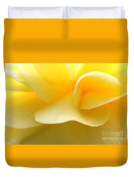 Soft Yellow Duvet Cover