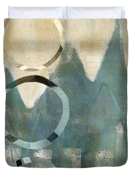 Softly Faded Duvet Cover