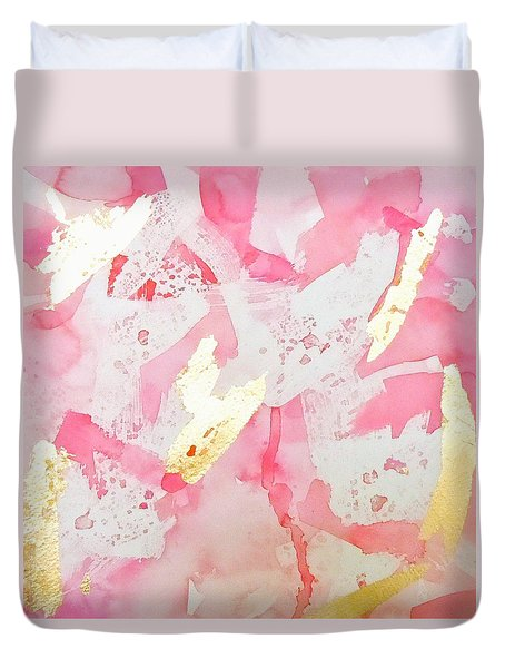 Softly Pink Duvet Cover