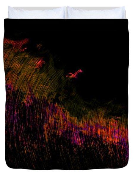 Solar Flare Duvet Cover by Christopher Gaston