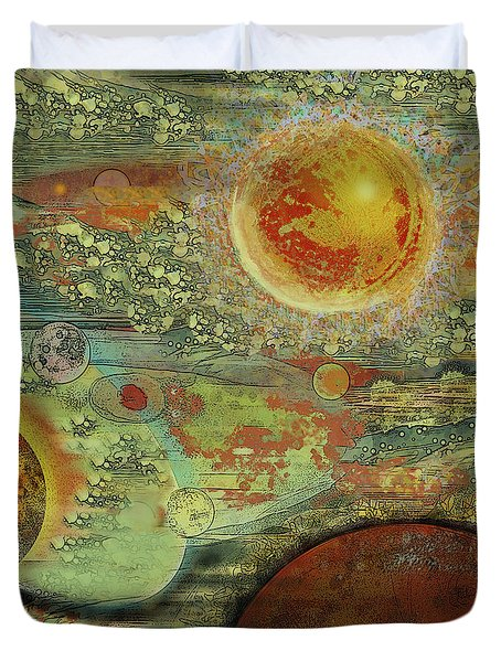 Solar Symphony Duvet Cover