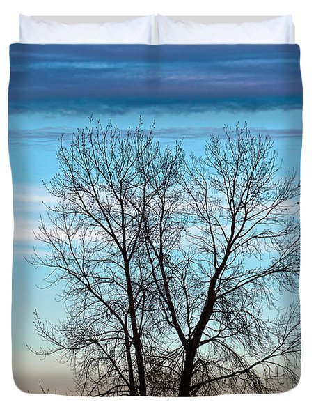 Soldier Creek Sunset Duvet Cover