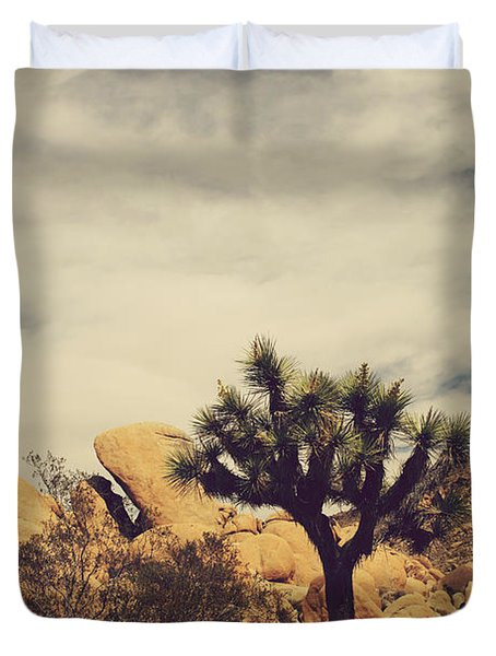 Solitary Man Duvet Cover