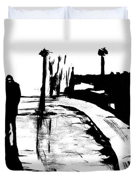 Solitude Duvet Cover by Alys Caviness-Gober