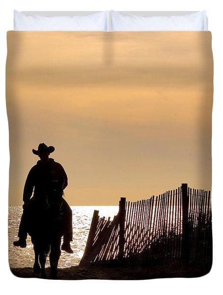 Solitude Duvet Cover by Carol Lynn Coronios