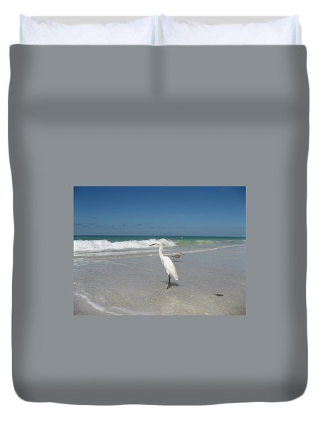 Solitude Duvet Cover by Jean Marie Maggi