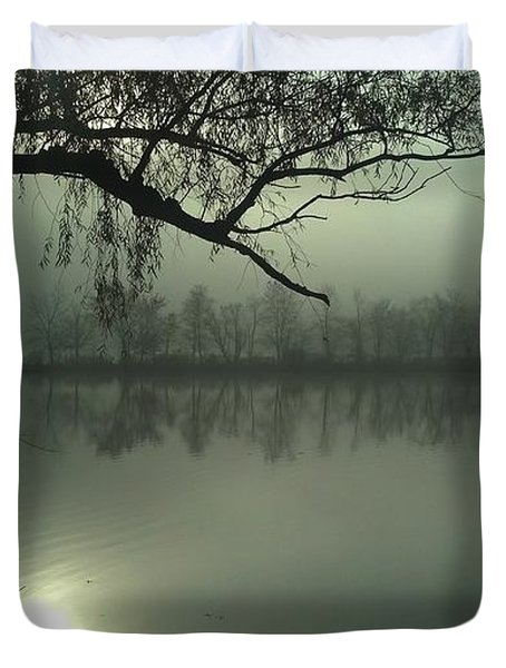 Solitude Duvet Cover by Joe Faherty