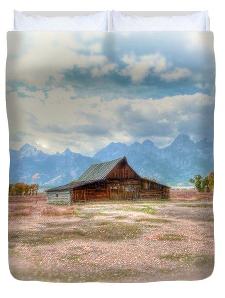Solitude Duvet Cover by Kathleen Struckle