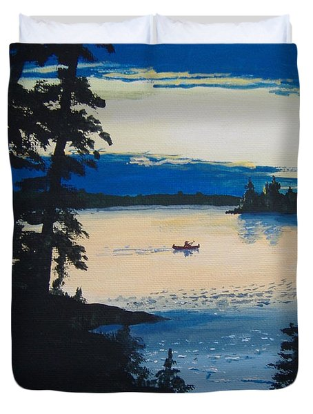 Solitude Duvet Cover by Norm Starks