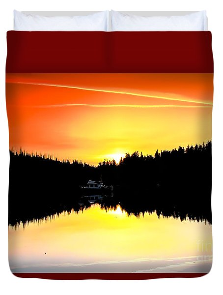 Solitude Duvet Cover by Robert Bales