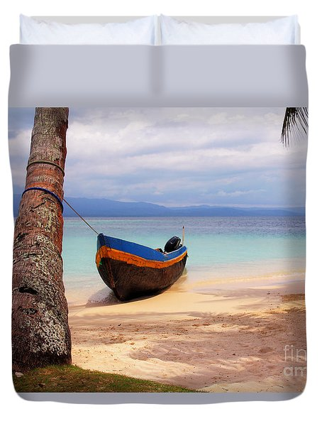 Solo Duvet Cover by Bob Hislop
