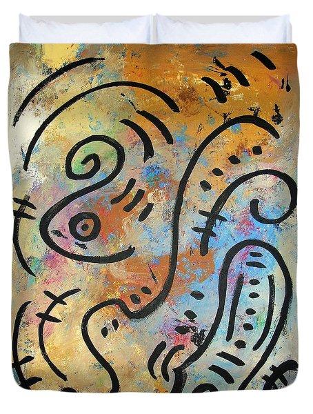 Solstice Duvet Cover by Venus