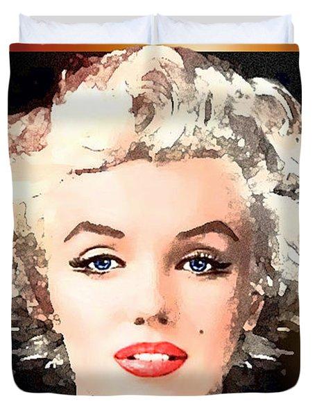 Marilyn - Some Like It Hot Duvet Cover