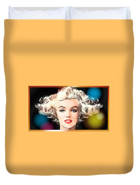 Marilyn - Some Like It Hot Duvet Cover