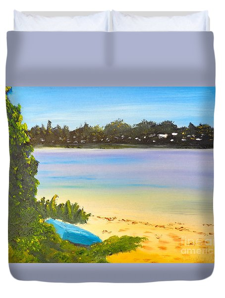 Somento Victoria Australia Duvet Cover by Pamela  Meredith