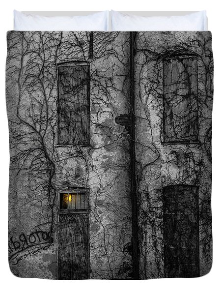 Someone's Home Duvet Cover