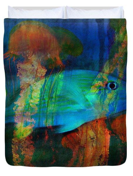 Something Fishy Duvet Cover