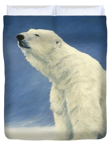 Something In The Air Duvet Cover