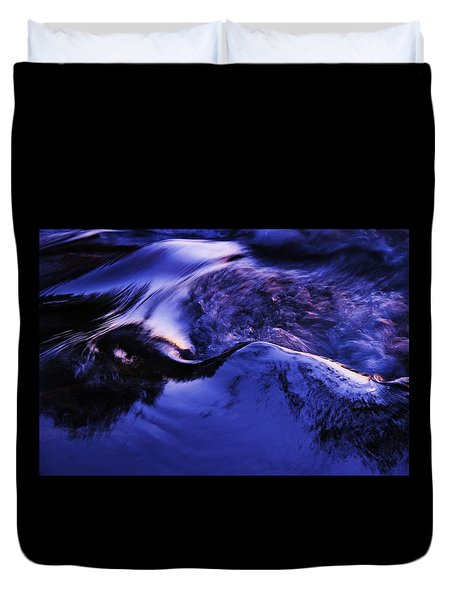 Duvet Cover featuring the photograph Something In The Way She Moves by Sean Sarsfield
