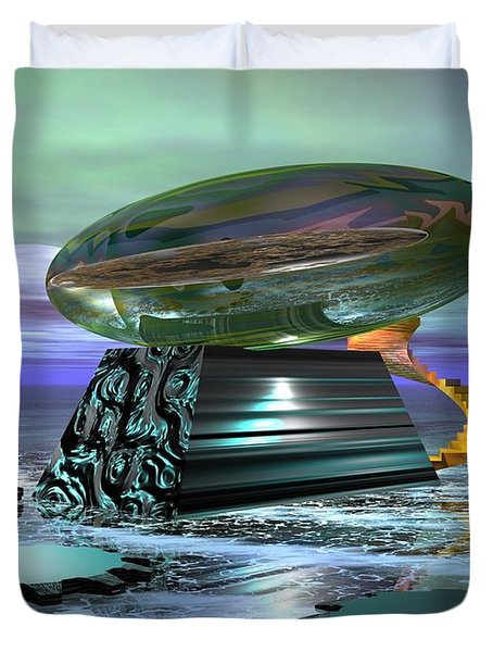 Something Shiny Duvet Cover