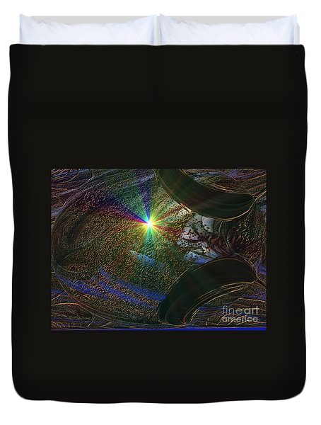 Something Wicked This Way Comes Duvet Cover