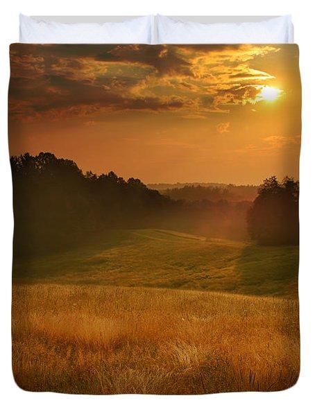 Somewhere In A Dream Duvet Cover by Rob Blair