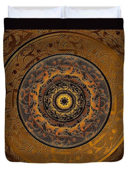 Song Of Heaven Mandala Duvet Cover