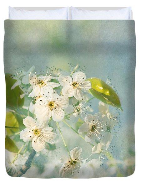 Song Of Spring Duvet Cover by Kim Hojnacki