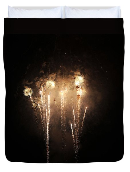 Duvet Cover featuring the photograph Sonic by Rowana Ray