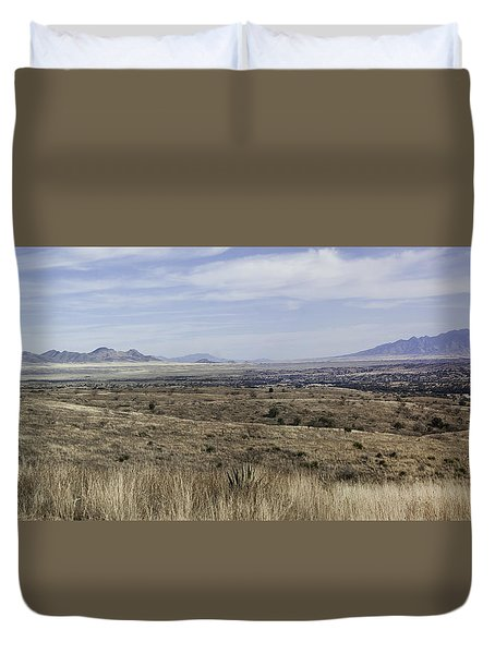 Sonoita Arizona Duvet Cover by Lynn Geoffroy