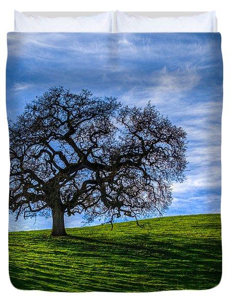 Sonoma Tree Duvet Cover by Chris Austin