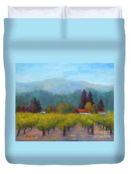 Sonoma Valley View Duvet Cover