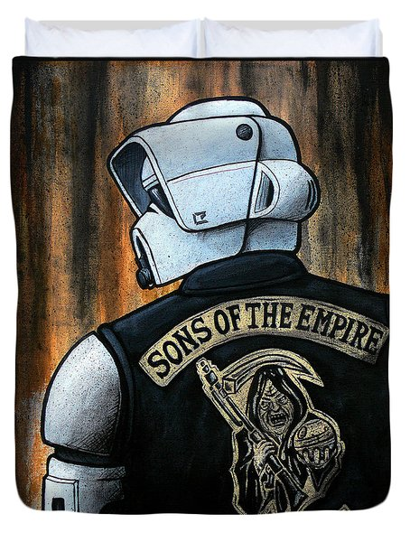 Sons Of The Empire Duvet Cover by Marlon Huynh