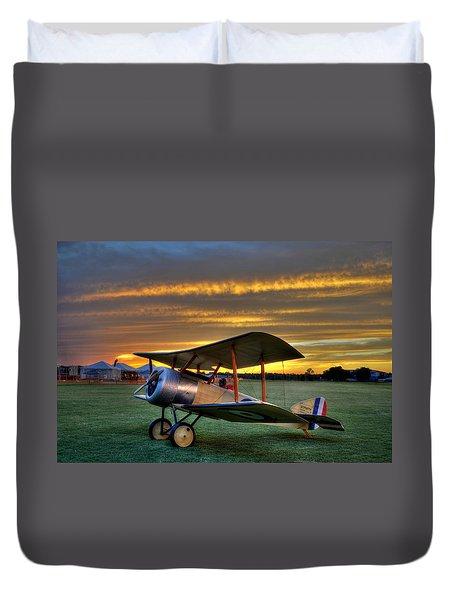 Sopwith Sunset Duvet Cover