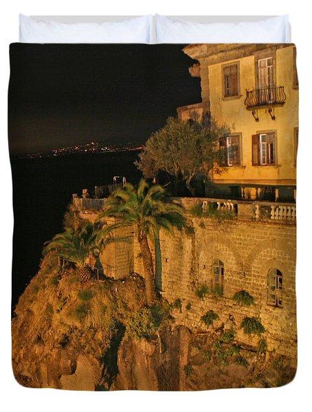 Sorrento Italy Duvet Cover